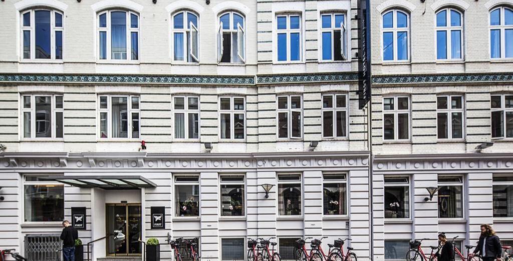 Soggiornerete al First Mayfair Hotel Copenhagen
