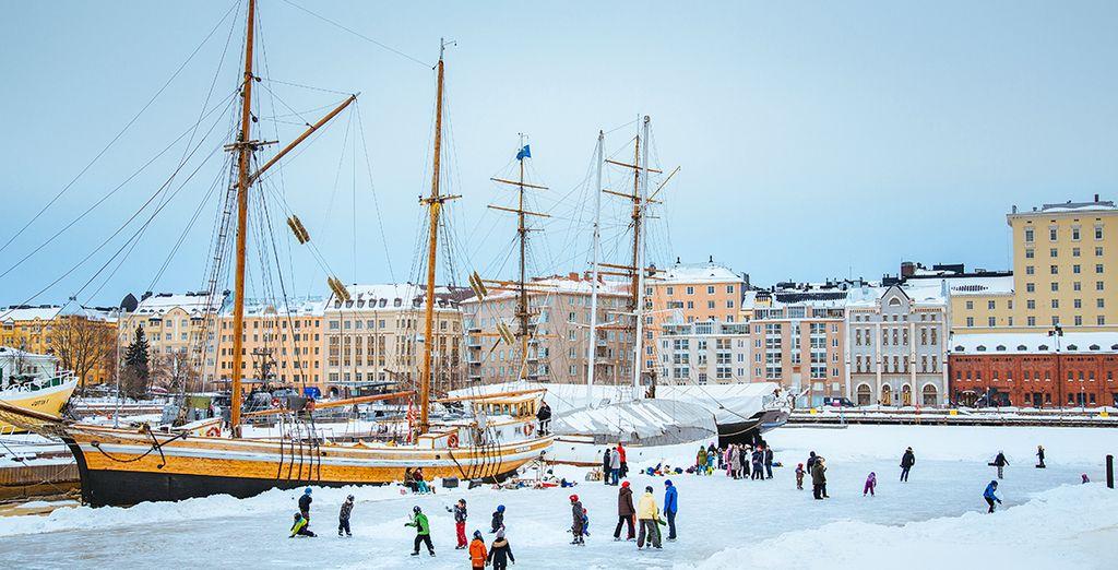 Splendida città maestosamente affacciata sul Mar Baltico