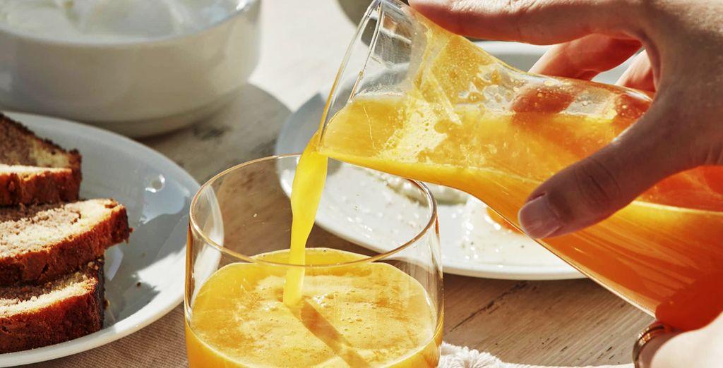 iniziate ogni mattina con un'ottima colazione