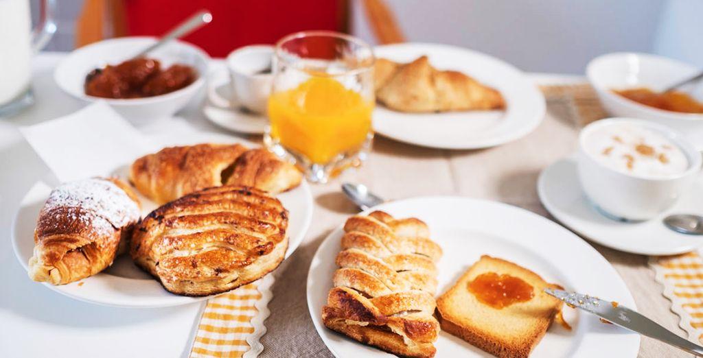 Ogni mattina vi aspetta un'ottima colazione