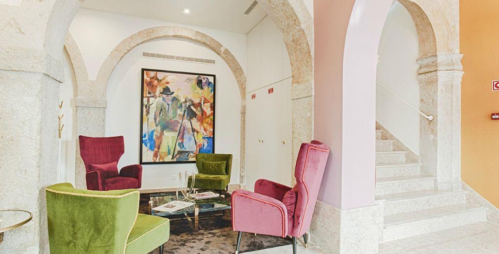 Un moderno boutique hotel 4*