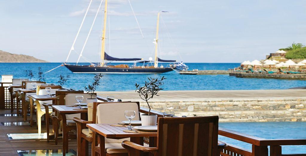 Presso l'Odysseas Restaurant potrete gustare deliziose portate