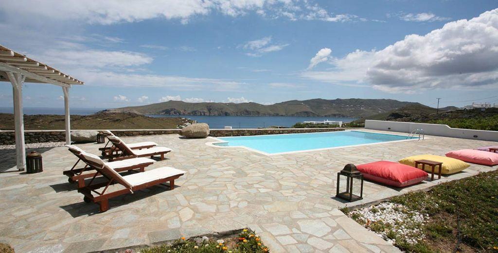 Questo Residence a conduzione familiare vi offre una calorosa ospitalità greca