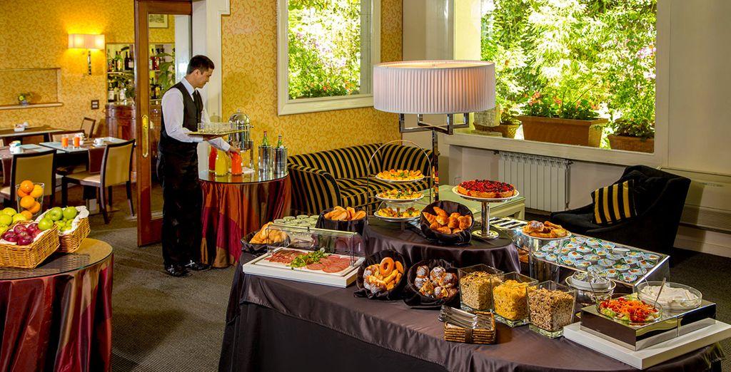 Svegliatevi ogni mattina con una fantastica colazione a buffet