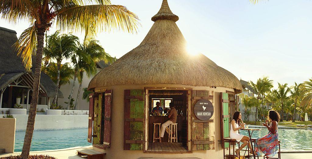 Il chiosco sulla spiaggia, casa del rum