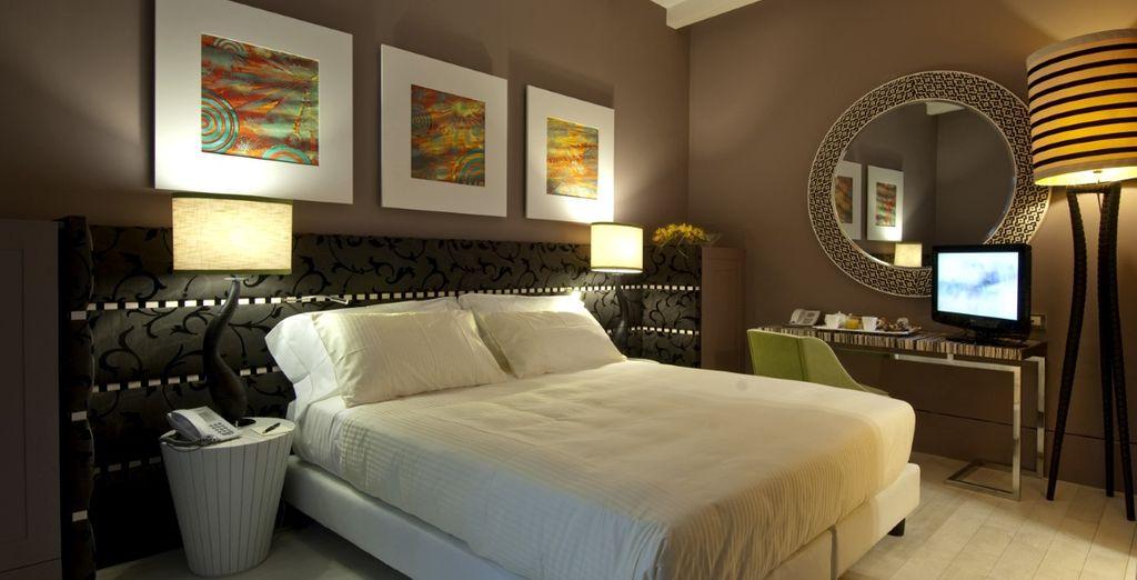 Per voi un soggiorno in confortevoli Camere Deluxe
