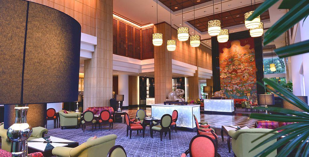 Una splendida struttura 4* dagli ambienti eleganti e colorati