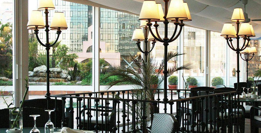 Affacciatevi sulle terrazze dell'hotel
