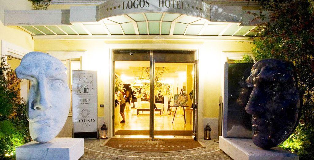 Il Logos Hotel è pronto ad accogliervi nella meravigliosa Versilia