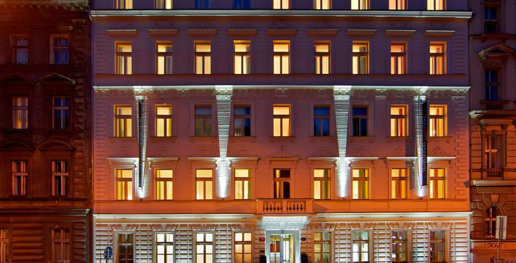 Il Red & Blue Design Hotel 4* è pronto a darvi il benvenuto