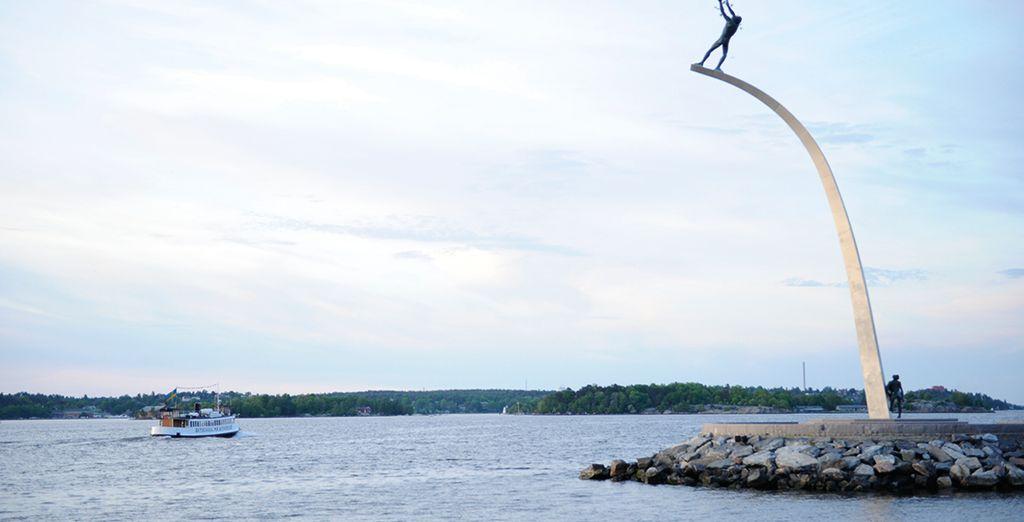 Siete a soli 20 minuti di barca dal centro di Stoccolma