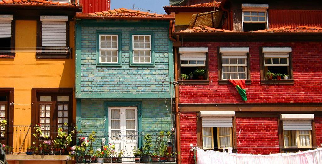 Porto vi offrirà scenari da cartolina e pittoreschi scorci cittadini