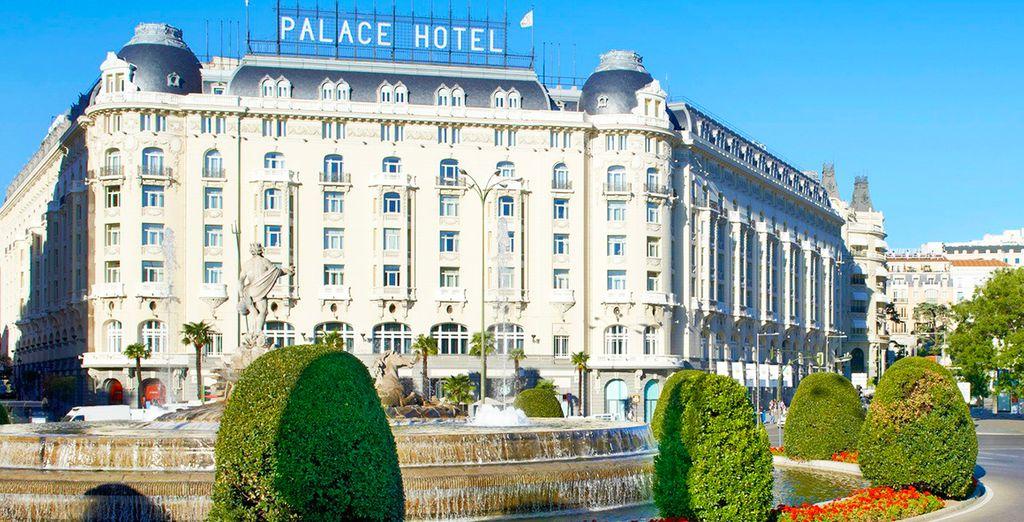 Prima di visitare la bellissima Madrid grazie alla posizione favorevole dell'hotel a breve distanza dalle principali attrazioni