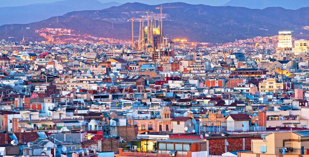 Godetevi il vostro soggiorno nella vivace città catalana