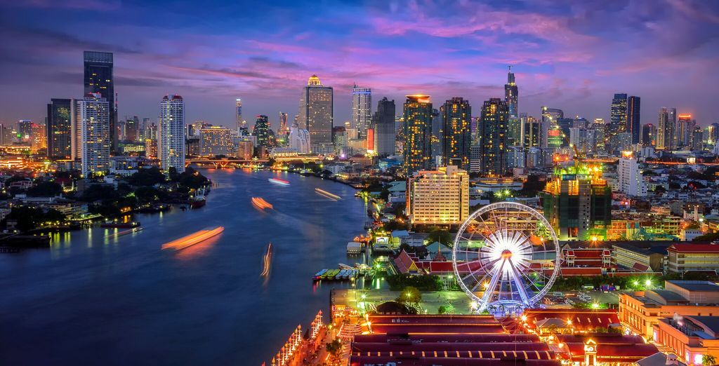 Prima tappa è Bangkok