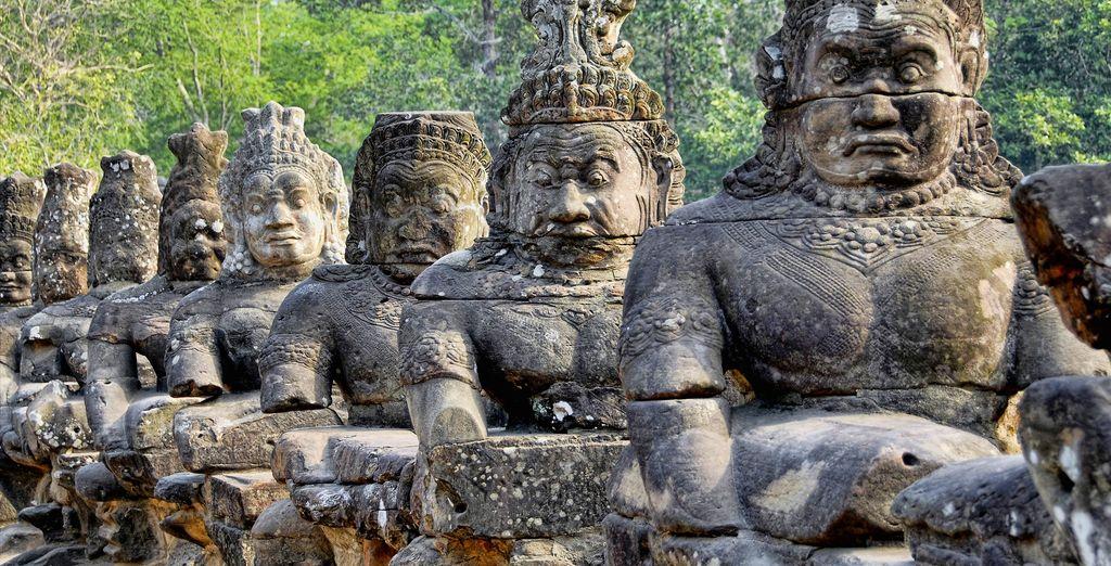 Ripercorrete la sua storia gloriosa del periodo khmer