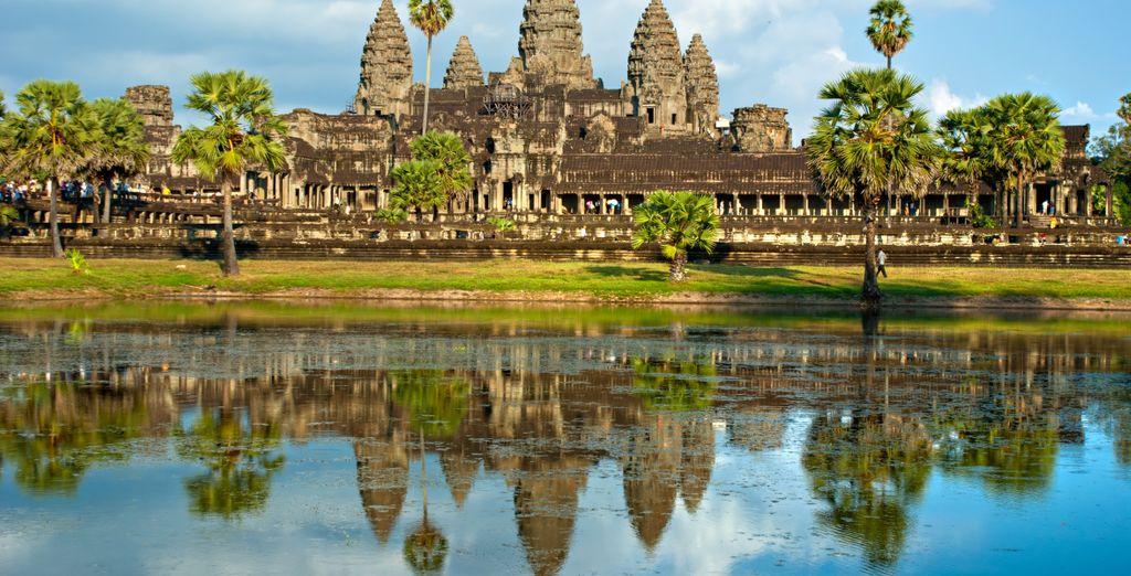 visitando i templi di Angkor