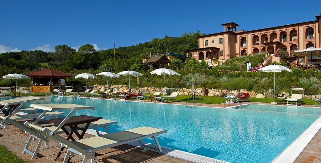Partite per il Saturnia Tuscany Hotel