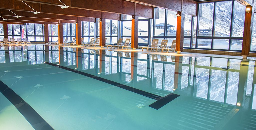 L'ingresso al centro benessere e alla piscine è incluso nella tessera club