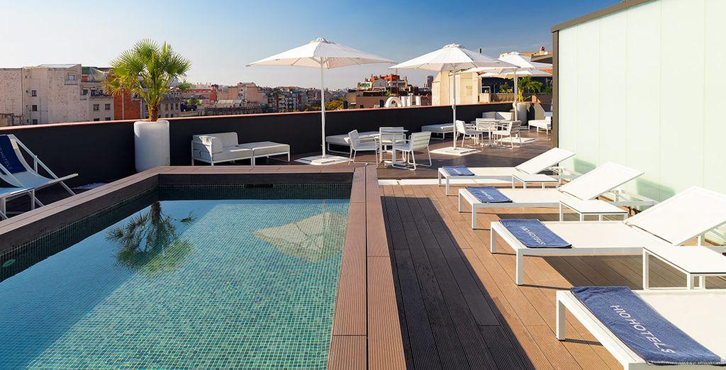 nei mesi più caldi potrete approfittare della piscina