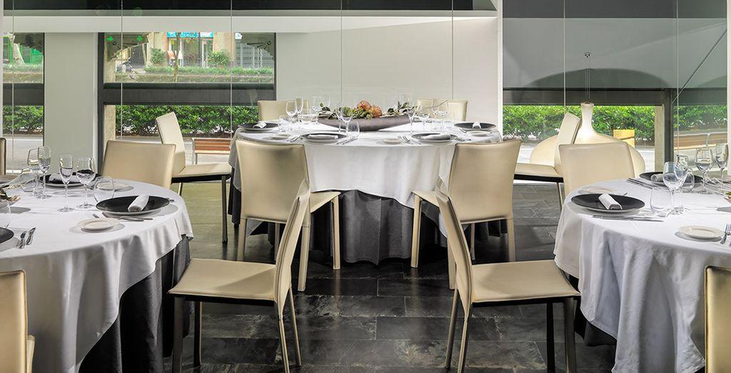 potrete scegliere tra ottimi piatti ispirati alla cucina mediterranea