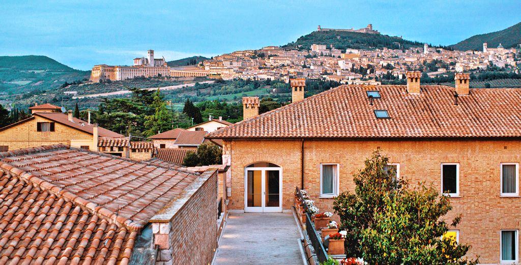 L'Hotel Cenacolo Assisi 4* è pronto ad accogliervi