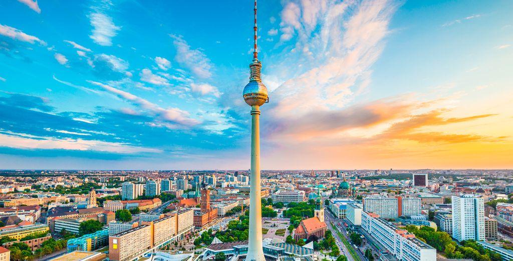 Partite per un soggiorno indimenticabile a Berlino.