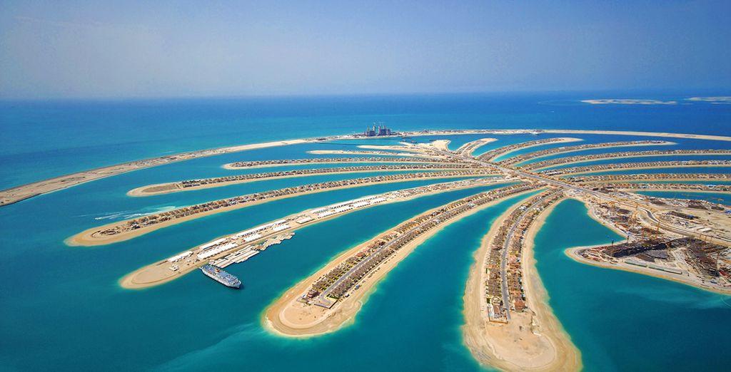 Situato sulla bellissima isola Palm Jumeirah