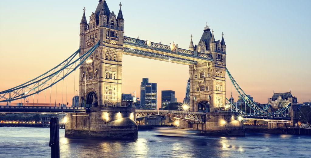 Per una vacanza indimenticabile nell'affascinante capitale britannica.