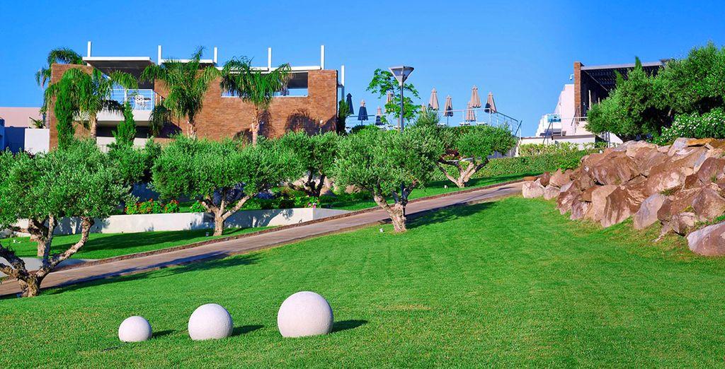 Lussuoso resort costruito nel 2009 dal fascino eccezionale