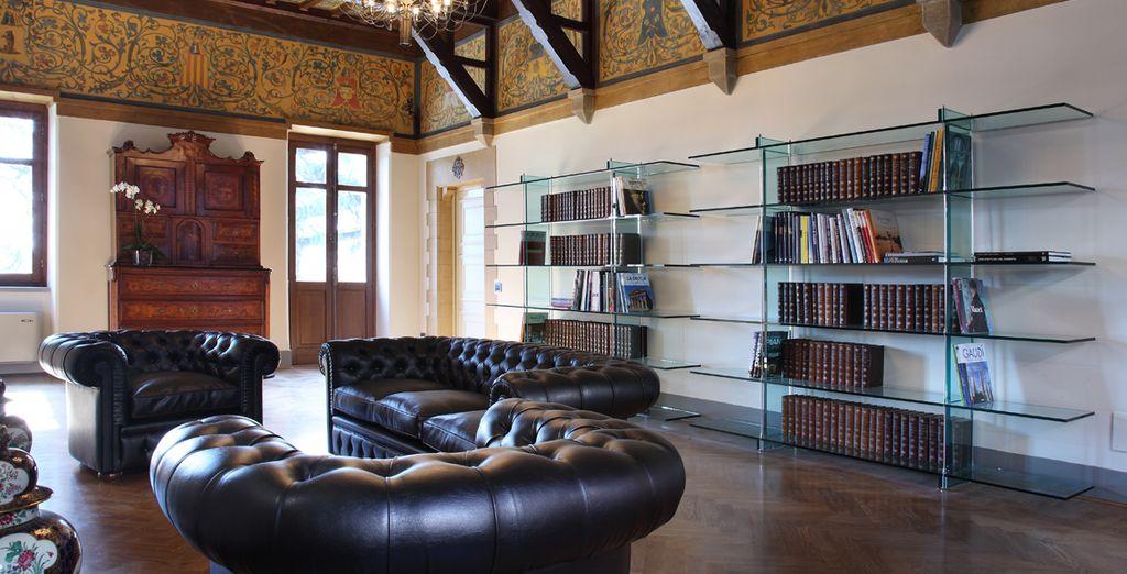Approfittate della prestigiosa libreria del Resort