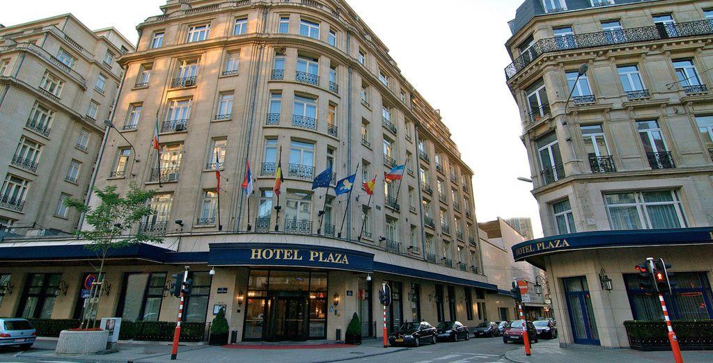 Venite a scoprirla nella splendida cornice del Plaza Hotel.
