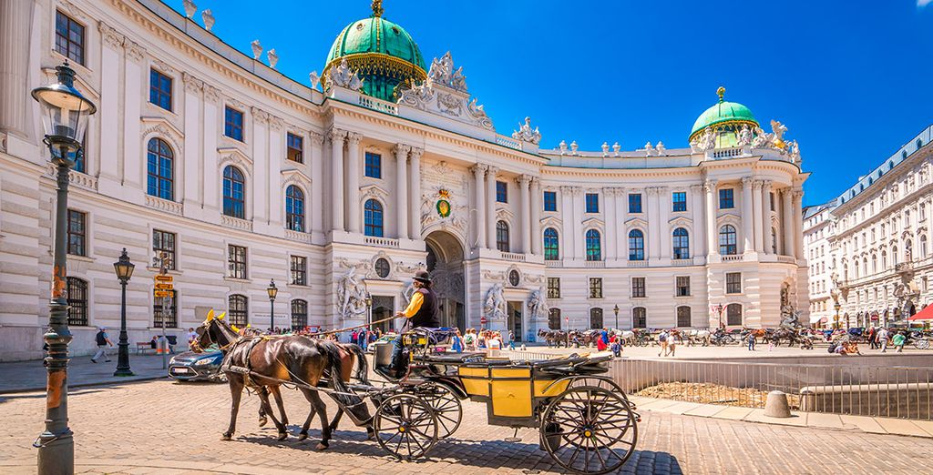 Vienna vi aspetta in tutto il suo fascino imperiale