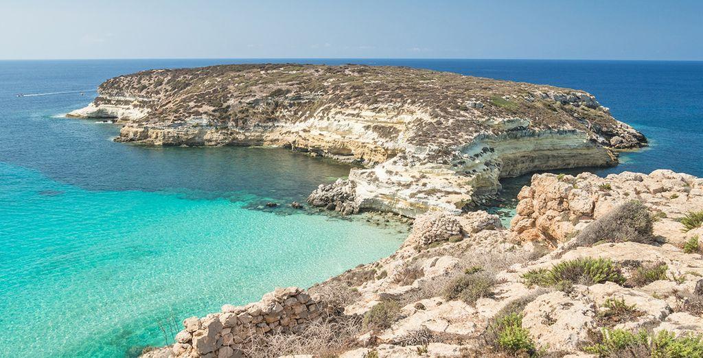 Benvenuti a Lampedusa: lasciatevi incantare da questo luogo magico.