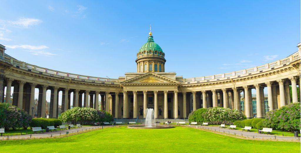 Partirete da San Pietroburgo