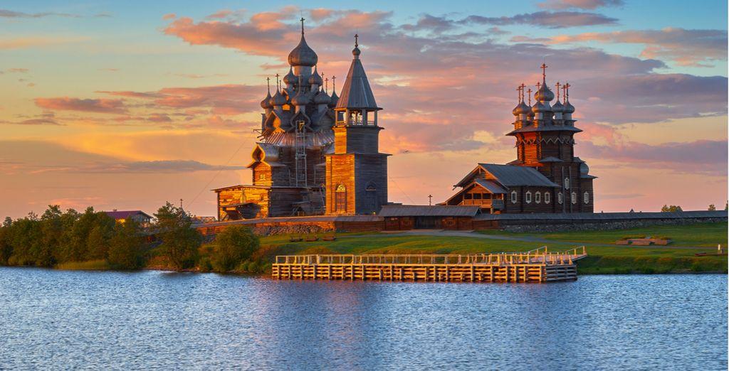 Meravigliose Cattedrali in legno vi incanteranno