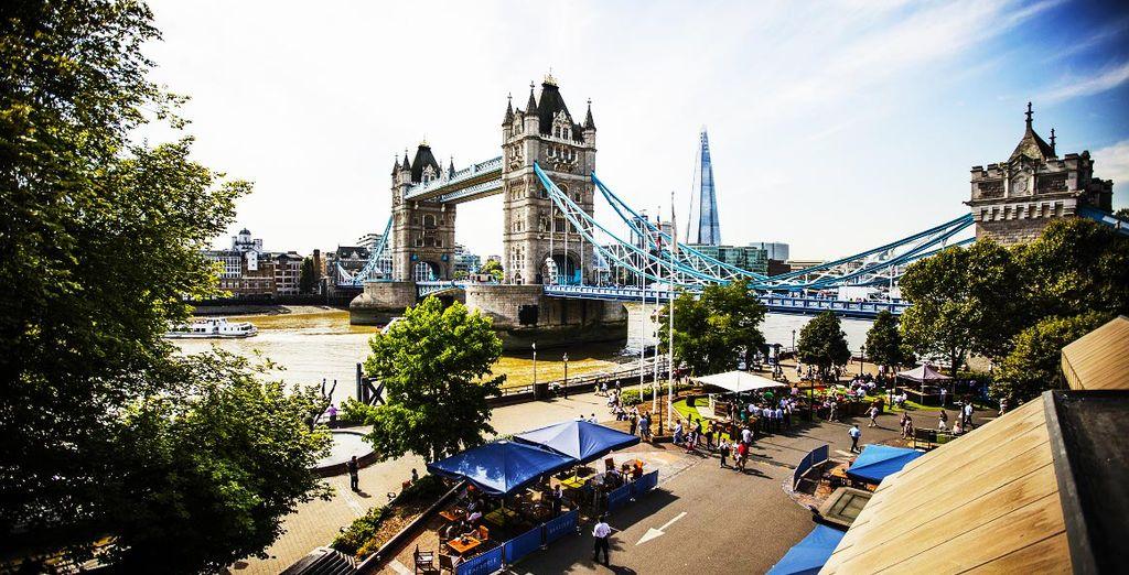 Benvenuti nella maestosa capitale britannica!