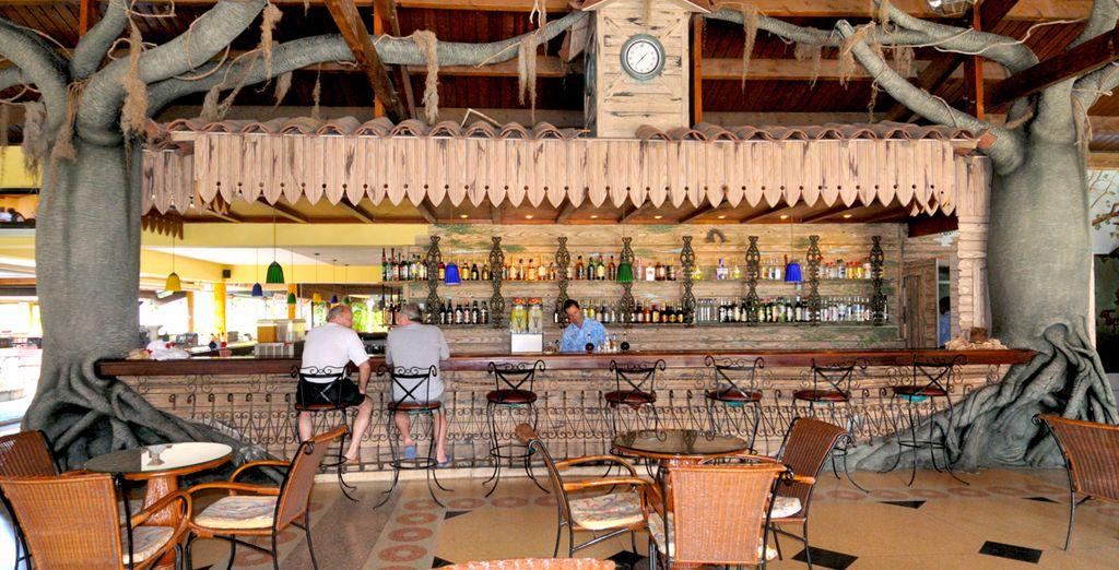 Concedetevi una piacevole pausa al bar