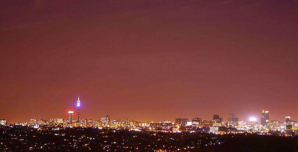 Comincerete il vostro viaggio dal Sudafrica, da Johannesburg