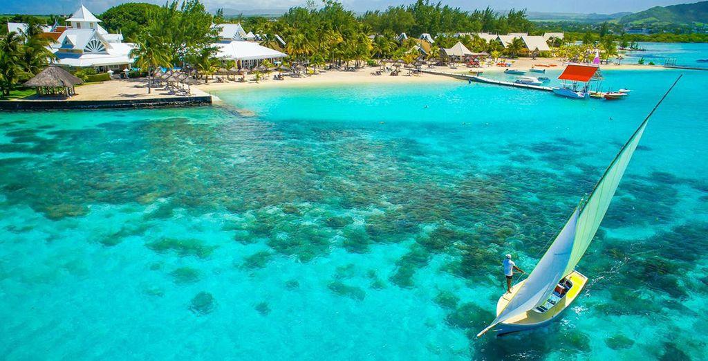 Per poi rilassarvi sulle spiagge di Mauritius