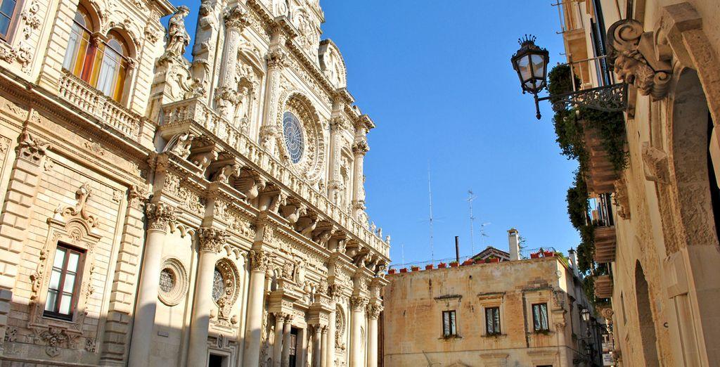 Visitate la splendida Lecce