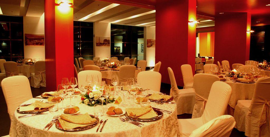 Presso il Cube Bar & Restaurant vi proporranno piatti della cucina mediterranea