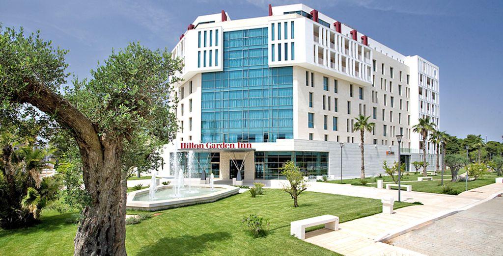 Nel meraviglioso Hotel Hilton Garden Inn Lecce 4*