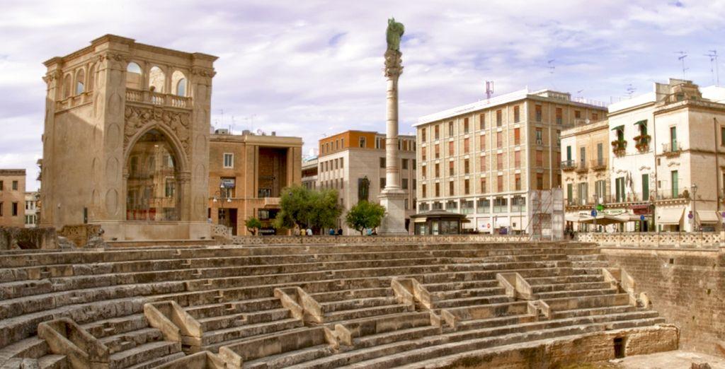 Soggiornerete nel cuore di Lecce