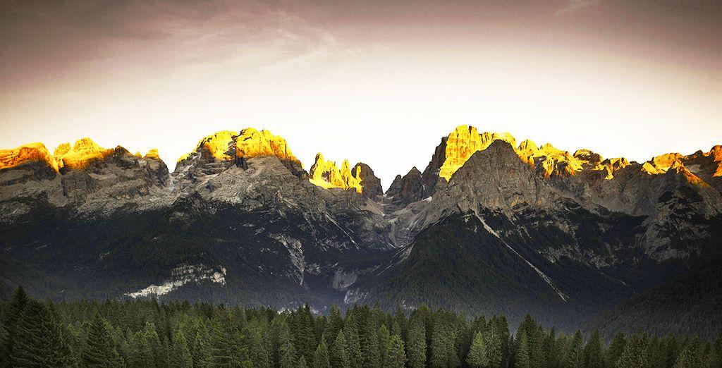 Respirate l'aria pura delle Dolomiti