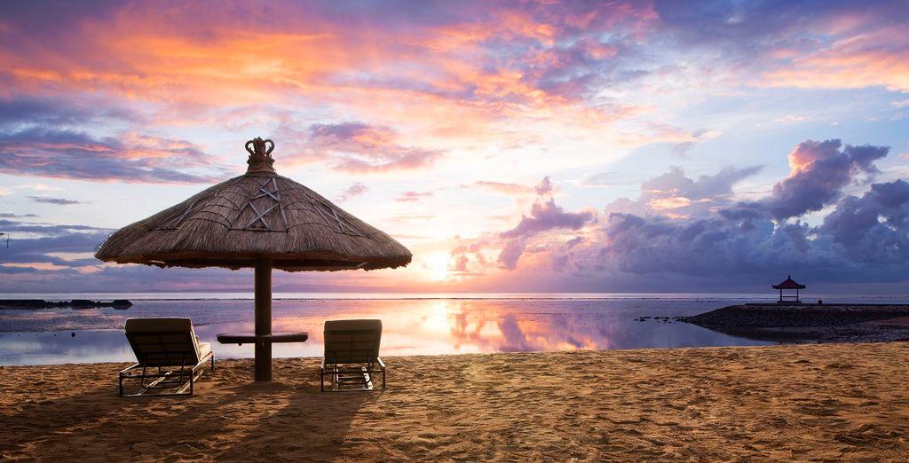 la spiaggia poi vi regalerà tramonti mozzafiato