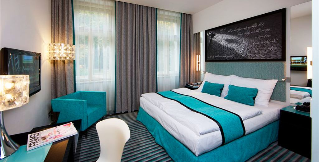 Dotata di ogni comfort per garantirvi un soggiorno di qualità