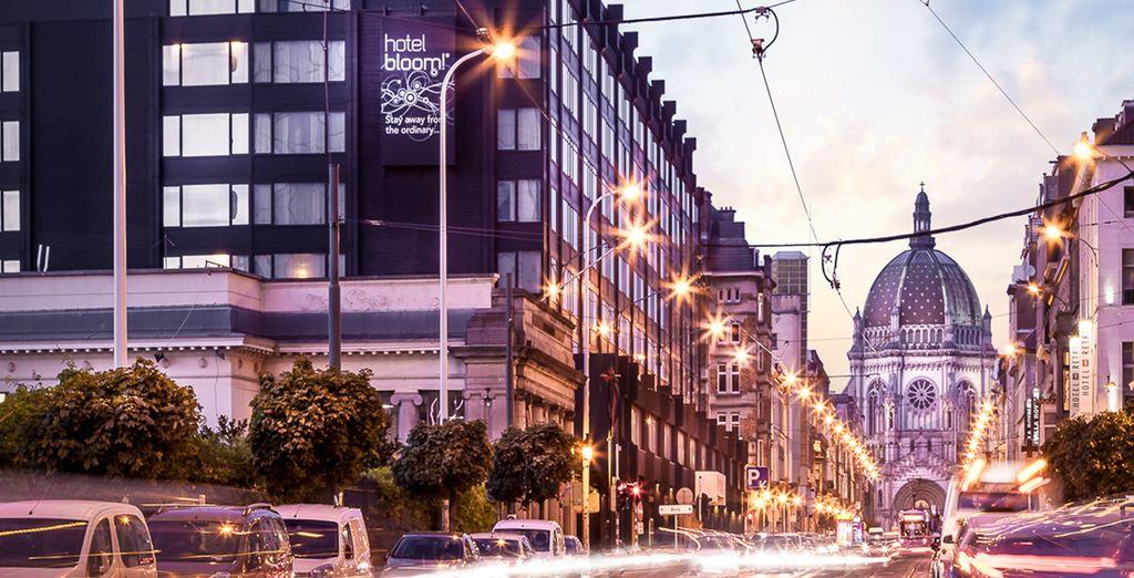 situato nel cuore della città, ideale per partire alla scoperta di Bruxelles