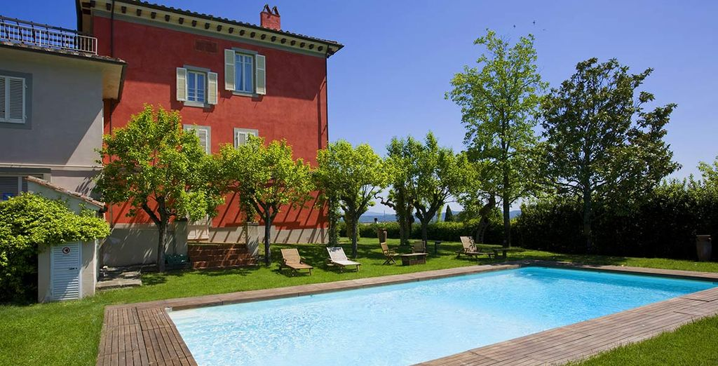 La Villa Cassia di Baccano vi dà il benvenuto