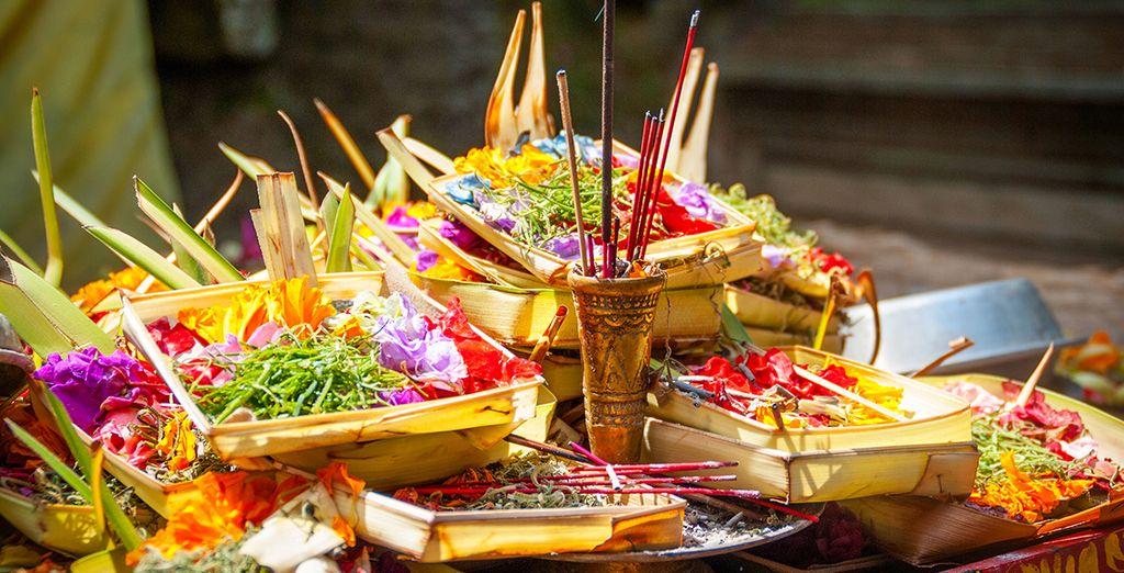 Dove sarete a stretto contatto con le tradizioni, le culture e i costumi del luogo